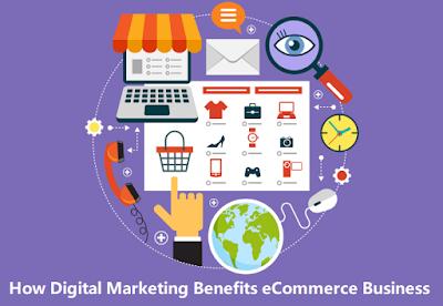 How Digital Marketing Benefits eCommerce Business