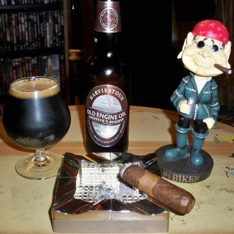 Beer Review – Harviestoun Old Engine Oil Engineer's Reserve Blackest Ale