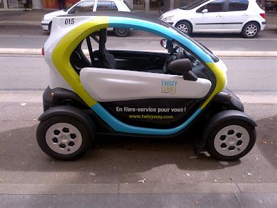 Twizy Car-Sharing service is real!