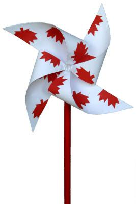 Canada Day Pinwheel Craft