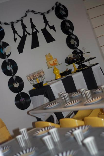 A Beatles themed Yellow Submarine Party by Eleven Event Stories