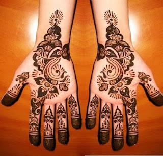 Latest Eid Mehndi Designs For Girls 2012