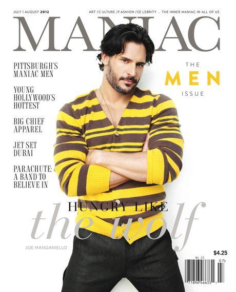 177149 10150913116961032 706335979 o Joe Manganiello Is Covered by Maniac Magazine