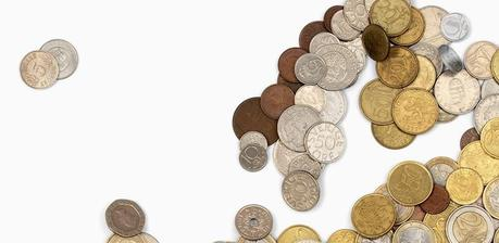 Bedow Studio-Map Made of Coins - Paperblog