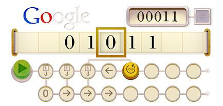 Alan Turing's 100th Birthday: Google Pays Tribute With A Doodle