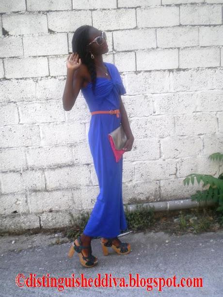 OOTD: Friends Graduation Blue Chic