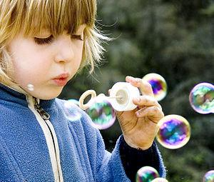 English: Soap bubbles