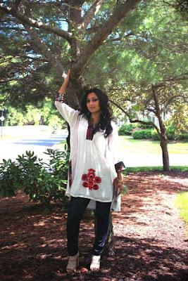 Beat The Heat Women Summer Casual Dresses 2012 by Madiha Couture