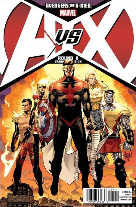 Avengers VS X-Men #8 Cover Variant Kubert