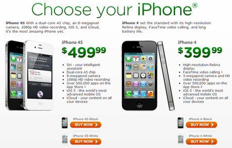 Cricket Wireless Now Offering Pre-Paid iPhone 4S and iPhone 4