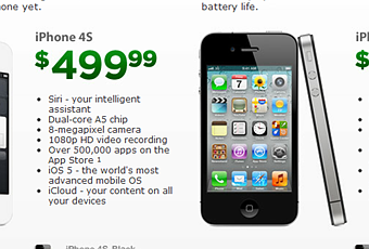 Cricket wireless now offering pre paid iphone 4s and iphone 4