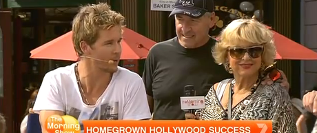 Ryan Kwanten and Parents the Morning Show