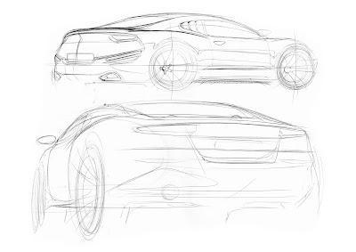 Car sketch tutorial by Pedro Guarinon