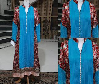 Latest Dresses For Eid 2012 By Bushra Anjum