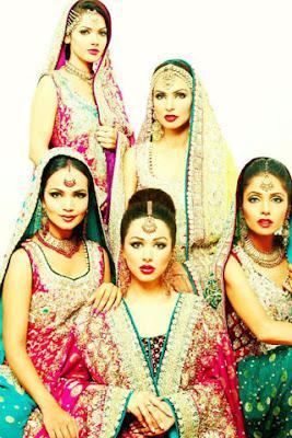 Latest Bridal Dresses 2012 by Aiesha Varsey