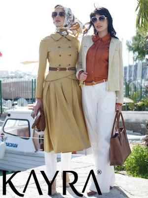 Kayra Latest Summer Hijab  Abaya Collection 2012