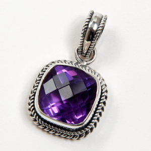 amethyst necklace from india