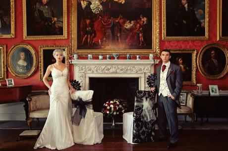 An Elegant Gothic Wedding Inspiration Shoot from Browsholme Hall ...