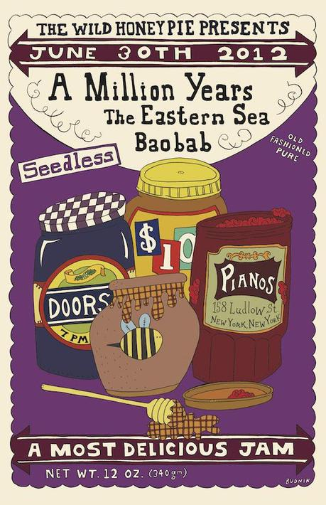 WHP poster 6 30 ALT copy1 WIN FOUR FREE TICKETS TO SEE A MILLION YEARS, THE EASTERN SEA ON SATURDAY [CONTEST]