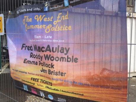 West End Summer Solstice banner.