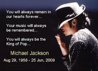 Remembering Michael Jackson...long live the King