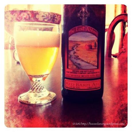 Beer Review – The Lost Abbey Red Barn Ale