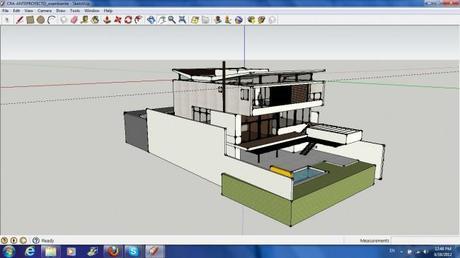 Google Sketchup 3D Model of House