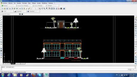 AutoCAD Computer Drawings