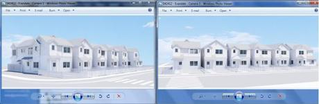 Architecture 3D Camera Angle Selection