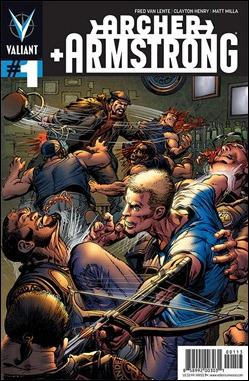 Archer and Armstrong #1 Neal Adams variant cover