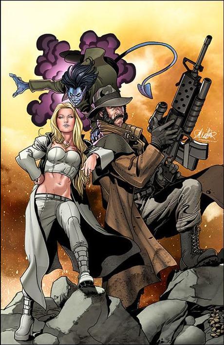 X-TREME X-MEN #1 cover Salvador Larroca
