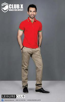 Leisure Club Summer T Shirts  Pants Collection 2012 For Men