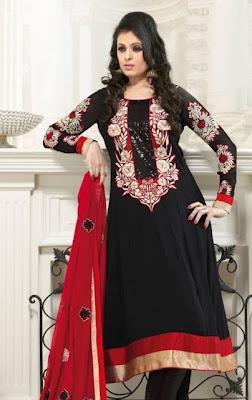 Latest Stylish Frock Designs 2012 Anarkali Frock for Eid Summer