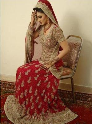 Latest Pakistani Stylish Bridal And Party Dresses Collection 2012