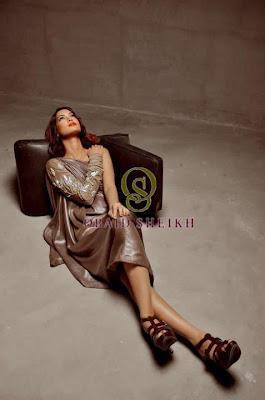 Obaid Sheikh Designs Women Fashion Dresses Shoot in Diva Magazine