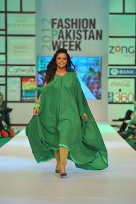 Nomi Ansari Latest Collection At Fashion Pakistan Week 2012