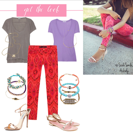 Get the Look: Ikat Jeans