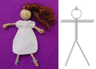 Pipe Cleaner Doll