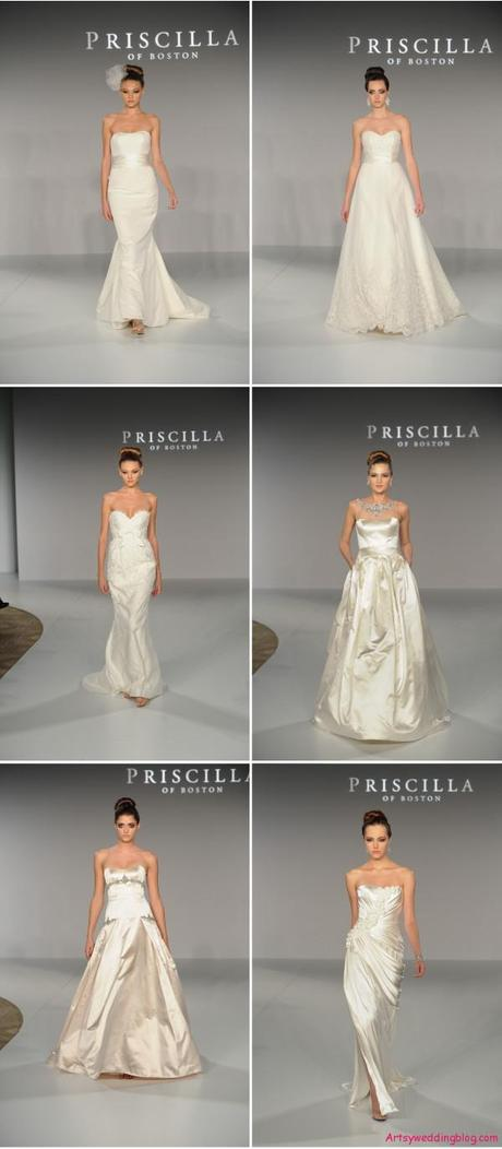 Wedding Gowns from Priscilla of Boston