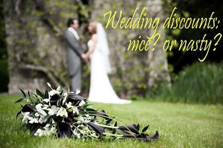 wedding discounts discussion