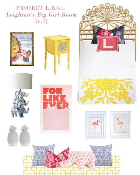 PROJECT L.B.G. // Leighton's Big Girl Room