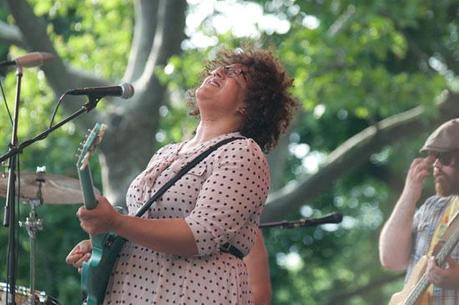 Alabama Shakes 10 ALABAMA SHAKES PLAYED CENTRAL PARK [PHOTOS]