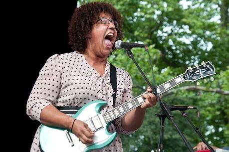Alabama Shakes 1 ALABAMA SHAKES PLAYED CENTRAL PARK [PHOTOS]