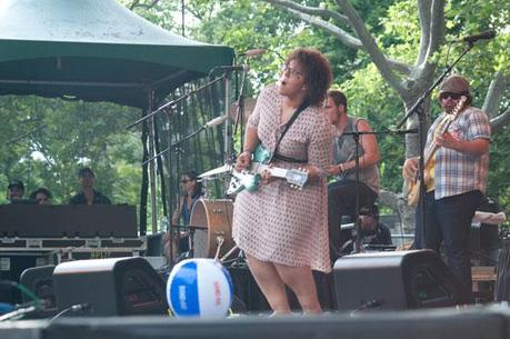 Alabama Shakes 12 ALABAMA SHAKES PLAYED CENTRAL PARK [PHOTOS]