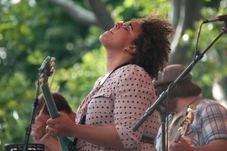 Alabama Shakes 13 ALABAMA SHAKES PLAYED CENTRAL PARK [PHOTOS]