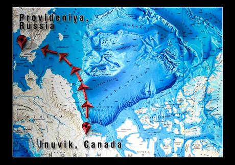 Arctic Row 2012 Team Prepares To Being Arctic Ocean Crossing