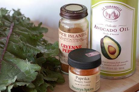 Spicy Kale Chips Ingredients