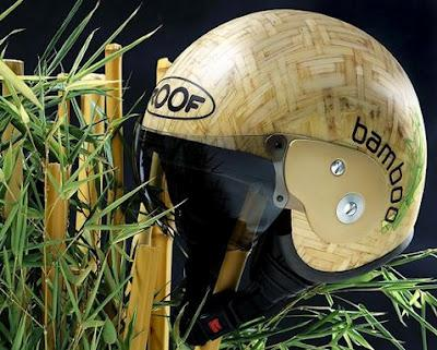 Bamboo Helmet by Roof eco design