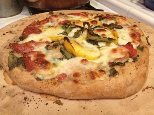 Mama Mia!! Easy Margherita Pizza