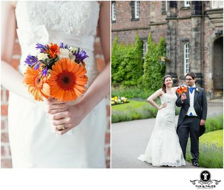 A quirky yorkshire wedding at York St. John University
